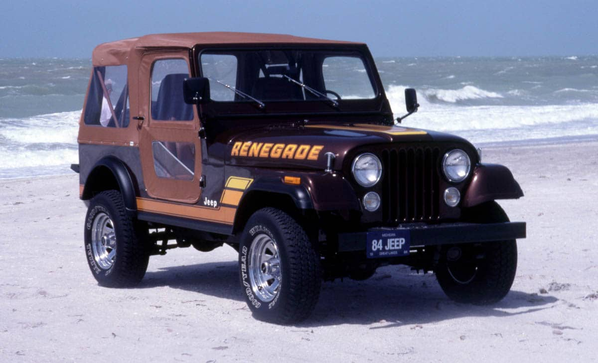 Jp CJ-7 Renegade frnt rt